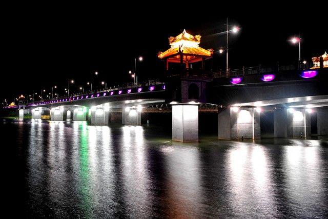 Chiếu sáng cầu Bạch Hổ – thành phố Huế