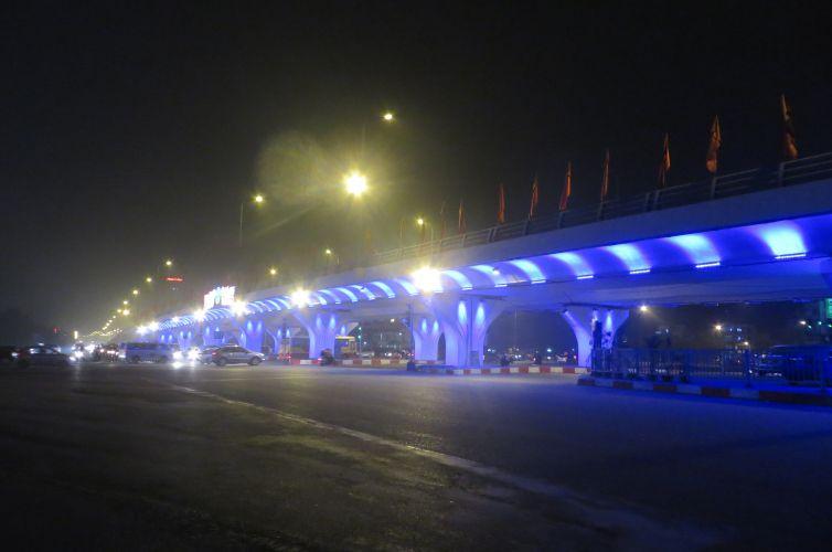 Hệ thống chiếu sáng trang trí cầu Mai Dịch – Hà Nội