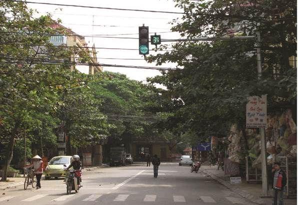 Đèn tín hiệu giao thông tại Vĩnh Phúc