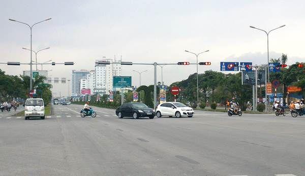 Đèn tín hiệu giao thông tại Hải Phòng