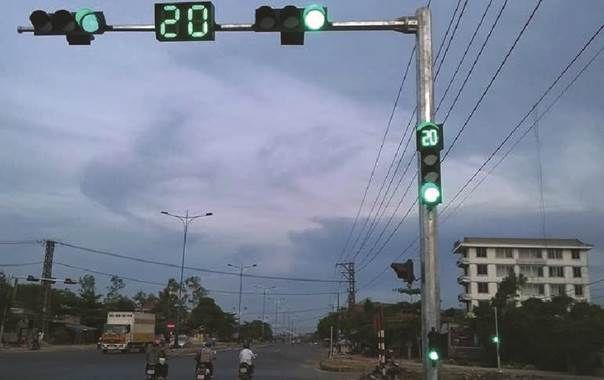 Đèn tín hiệu giao thông tại thị xã Đông Hà – Quảng Trị