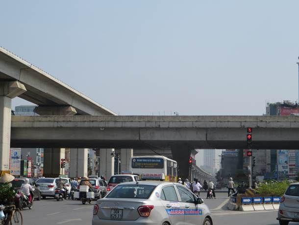 Đèn tín hiệu giao thông tại nút giao Thanh Xuân – TP. Hà Nội