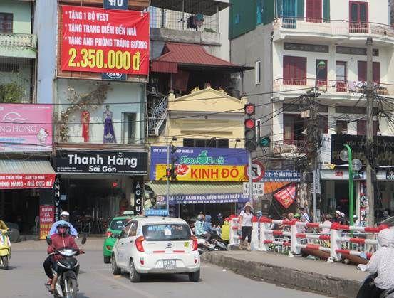 Đèn tín hiệu giao thông tại nút giao Khương Đình – TP. Hà Nội
